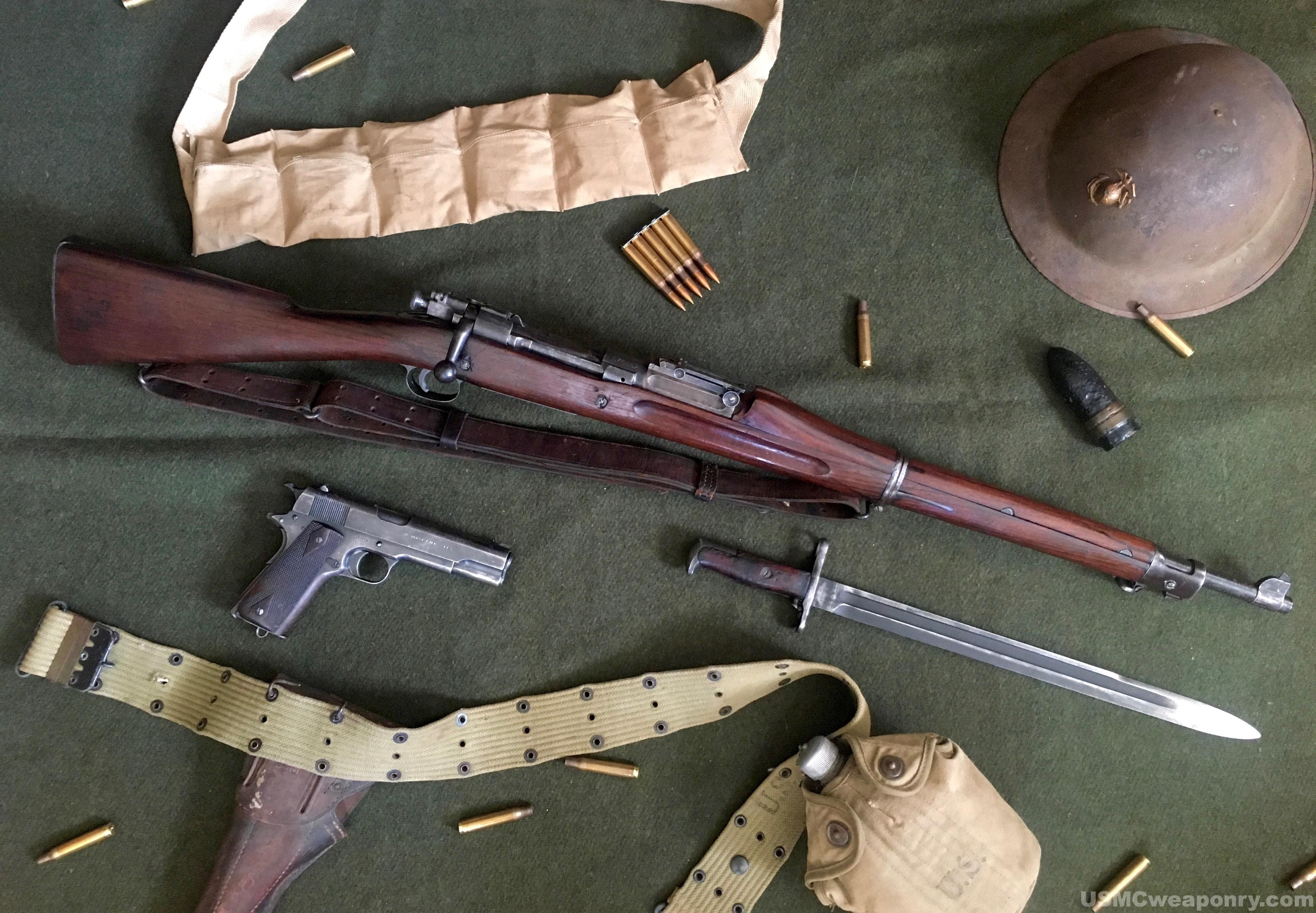 M1 Garand Ww1 Post WWI/Banana Wars U...