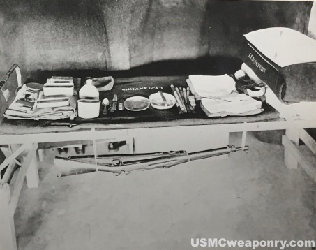 The bunk of a Marine in Haiti in the late 1920's. (photo: NARA)
