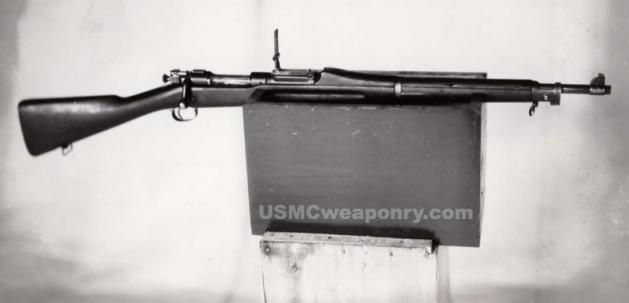 M1903 rifle with #10 sights (photo: NARA)