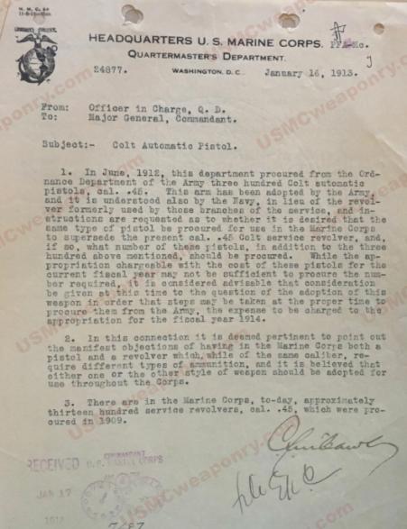 1913pistoladoption